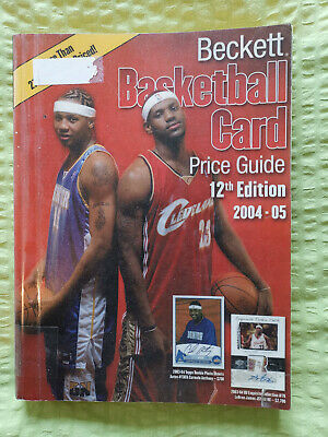 Beckett Basketball Card Price Guide 12th Edition 2004 2005 Preisliste NBA