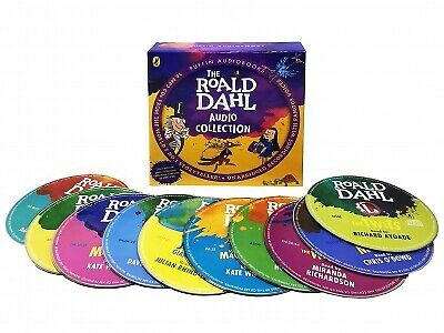 Roald Dahl 16 Phizz Whizzing Audio CD Books Collection NEW