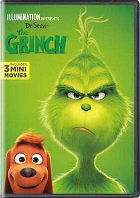 The Grinch DVD Illuminations Stole Christmas Dr. Seuss BRAND NEW SEALED MOVIE