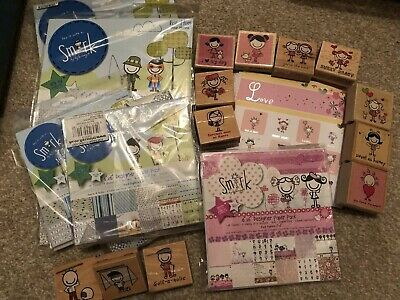 Trimcraft Smirk Craft Paper & Rubber Stamps