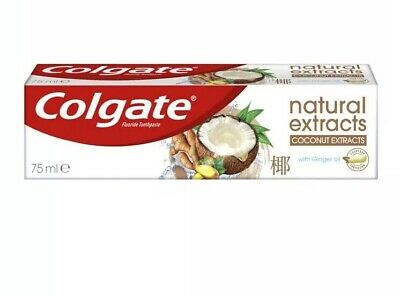 3xColgate Toothpaste Coconut Extracts With Ginger Oil