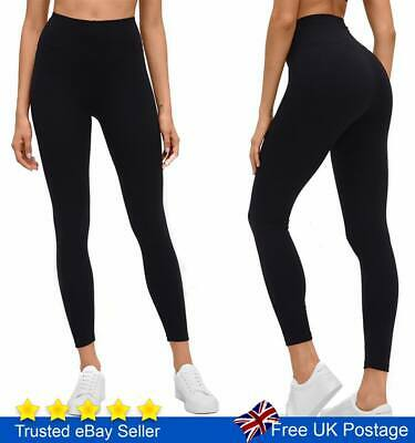 Tummy Control Leggings High Waist Stretch Fitness  Sports Gym Trousers Ladies
