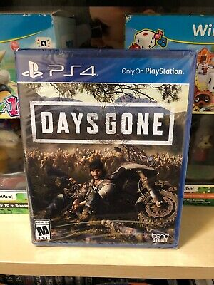 Days Gone PS4 (Sony PlayStation 4, 2019) Brand New Factory Sealed - Region Free