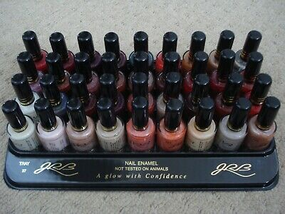 36 Different Colour Nail Polishes Varnishes Liquidated Bankrupt Clearance Stock