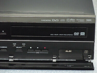 Toshiba DVR20 VCR VHS DVD Combi Video Recorder HDMI DV3 USB freeview, new remote