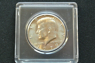BEAUTIFUL SILVER COIN! 1970-D KENNEDY HALF DOLLAR UNCIRCULATED from MINT SET C39