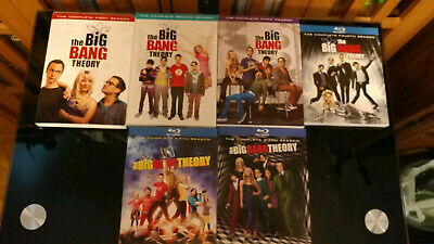 The Big Bang Theory: Complete Series Seasons 1-11 DVD, Blu Ray mix, watched once