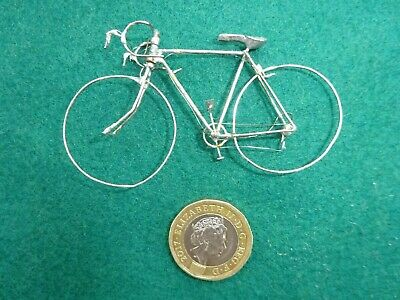 Stunning & Unique. A Bicycle Model Hand Made From Wire. Incredibly Delicate.