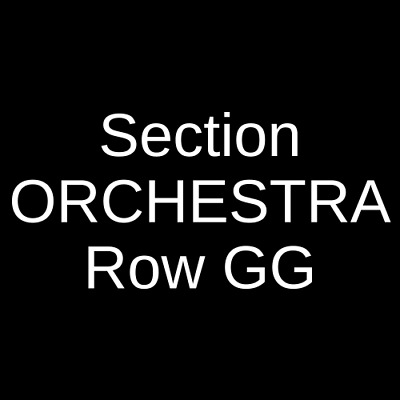 2 Tickets Capitol Steps 1/10/20 Morristown, NJ