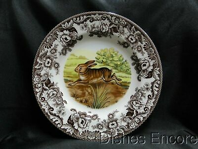 "Spode Woodland Rabbit, Bunny, England: Dinner Plate (s) 10 3/4"", Box"