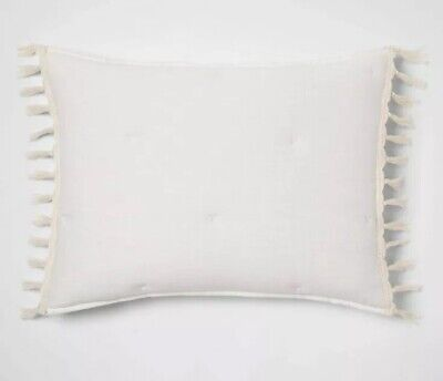 """French Country Toile Pillow Sham Case Slip Beige And Cream 46x70cm 18x27/"""""""