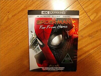 Spider-Man: Far From Home with Slipcover (2019, 4K Ultra HD + Blu-ray + Digital)