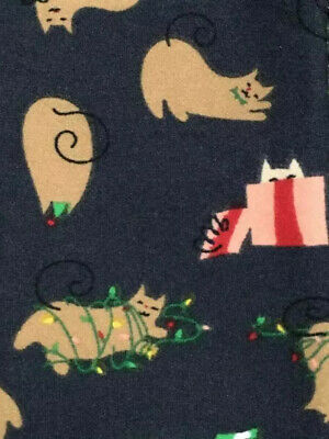 MB F-3 BNWT LuLaRoe Tween Christmas '19 Festive Playful Cats! Kitties Frolicking