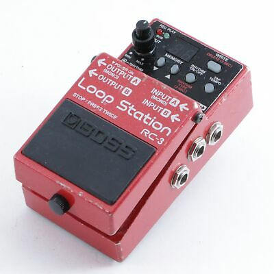Boss RC-3 Loop Station Looper Guitar Effects Pedal P-09688