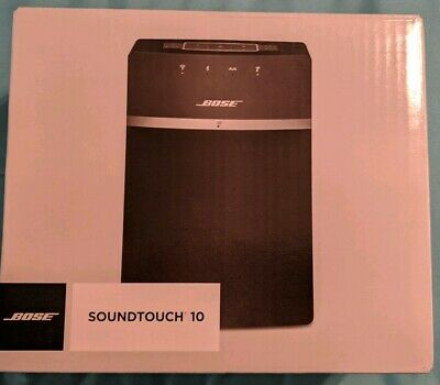 Bose soundtouch 10 wireless speaker Black 25% less then retail price w/shipping