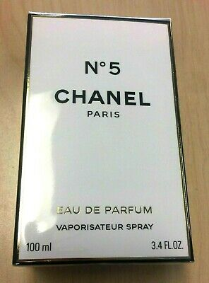 Chanel No.5 3.4oz / 100ml Women's Perfume Eau de Parfum New SEALED