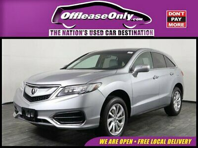 2017 Acura RDX AWD Off Lease Only 2017 Acura RDX AWD V6 Cylinder Engine 3.5L/212