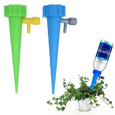 Plant Flower Water Control Drip Cone Spike Waterer Bottle Irrigation System BIUK