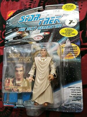 Star Trek Sarek Playmates ST: TNG Season 7 Action Figure 1994. New on Card.