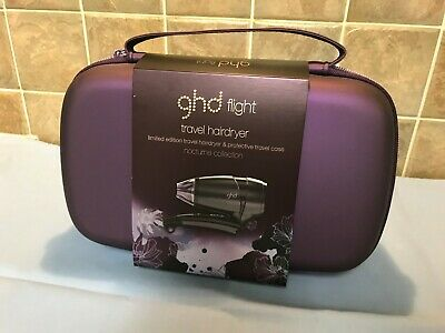 Ghd Flight Travel Hair Dryer & Protective Carry Case - Brand New