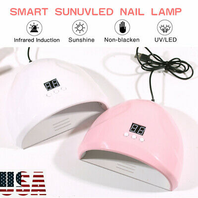 36W Nail Dryer LED Lamp UV Light for Nails Polish Gel Machine Electric Manicure^