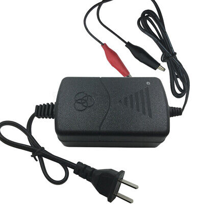 US Plug 12V Battery Charger Maintainer Amp Volt Trickle for Car Truck Motorcycle