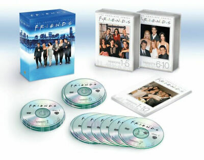 FRIENDS The Complete Series (DVD, 2019, 32-Disc Set, 25th Anniversary) NEW