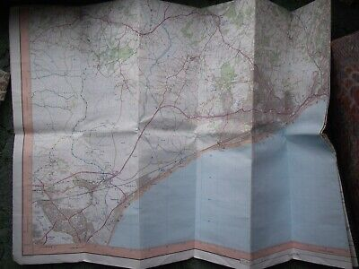 Ornance Survey Explorer Map Hastings and Bexhill