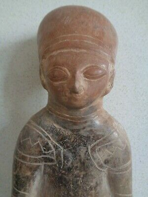 Pre- Columbian anthropomorphic figure from South America.