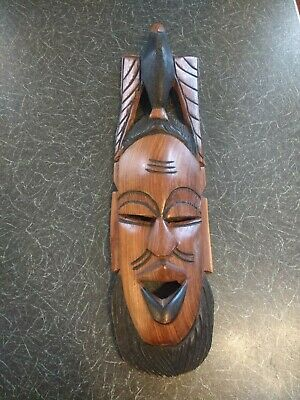 African Wooden Wall hanging mask