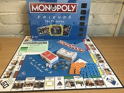 ⭐️ MONOPOLY Special FRIENDS Edition BOARD GAME Family TV Show - COMPLETE ⭐️
