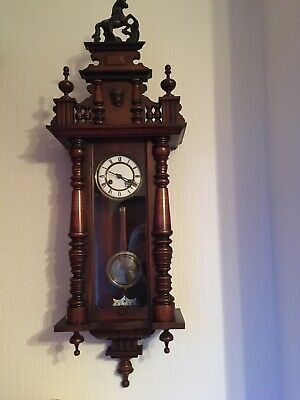 Genuine Victorian Vienna clock