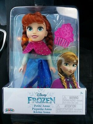 Disney Frozen Petite Anna Doll With Accessories Set Kids Xmas Gift For Girls NEW