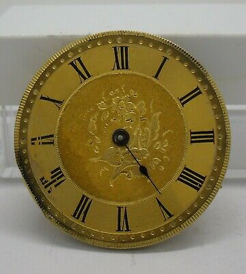 Pocket Watch Movement Working with Gilded Dial 34 mm Ø Funciona Esfera Dorada