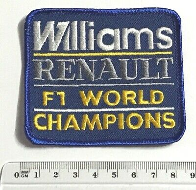 .Aufnäher Patch -> WILLIAMS RENAULT F1