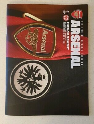 2019/20 Arsenal V Eintracht Frankfurt Europa-League