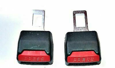 2 x Seat Safety Belt Buckle Adapter for Mercedes Extender Audi VW Vauxhall Bmw..