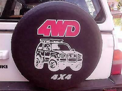 28 inches 71x22cm Spare Wheel Tyre Cover Black Waterproof 4x4 4WD JEEP OFF ROAD