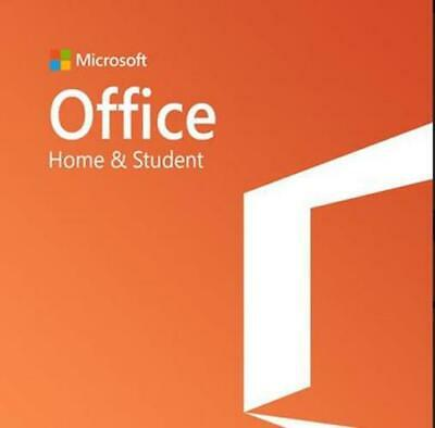 Microsoft Office Home & Student 2019 - One Time Purchase - Physical Actual Code