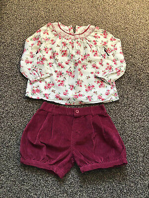 Mothercare Girls 4-5 Outfit Set
