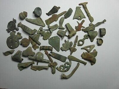 Iron Age Roman Celtic  Bronze Artefacts Partifacts: Winchester Detecting Finds