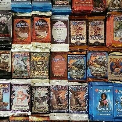 Foreign/English MTG Booster Pack Grab Lottery - 2 Packs in each Grab!