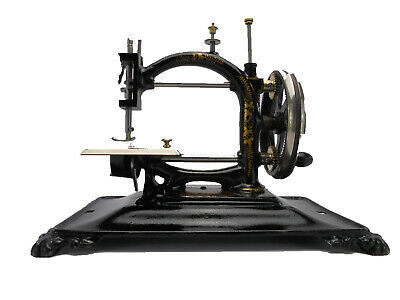Antique Guhl & Harbeck 'Original Express' Chainstitch Sewing Machine