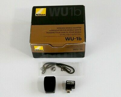 Nikon WU-1b Wi-Fi Wireless Mobile Adapter for Nikon D600 D610 etc