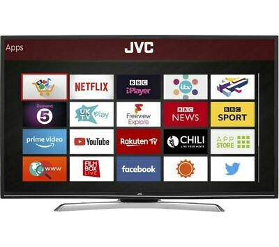 """JVC LT-39C790 39"""" Smart LED TV Full HD 1080p with Freeview Play, WiFi, Internet"""