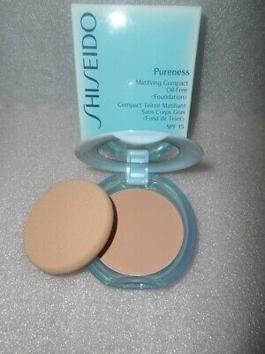 Shiseido Pureness Matifying Compact Oil-Free Foundation Spf15 30 Natural Ivory