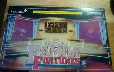 family fortunes board game britannia games 2002 complete  - 3pks cards sealed