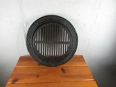 "Coal Shoot Cover Vestal MFG & Co. Sweetwater Tenn. 16"" Diameter Cast Iron Great!"