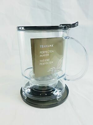 New, TEAVANA Perfectea Tea Maker in BLACK BPA free 16 oz (473 ml)
