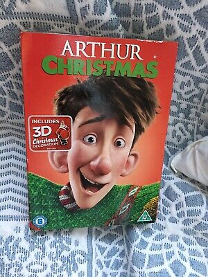Arthur Christmas - With Christmas Decoration [DVD] Inc Slipcover New & Sealed